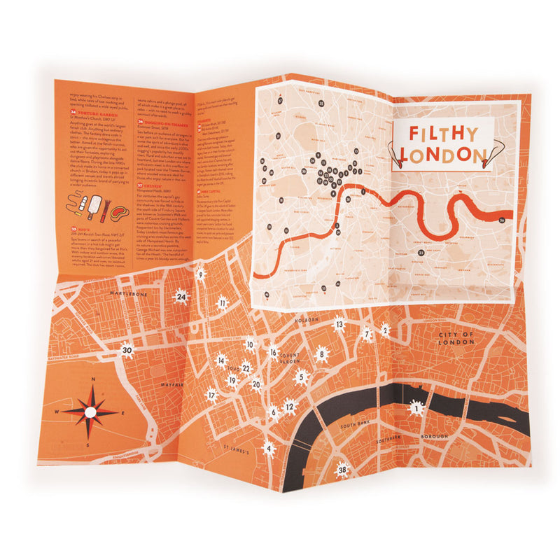 'Filthy London' Map