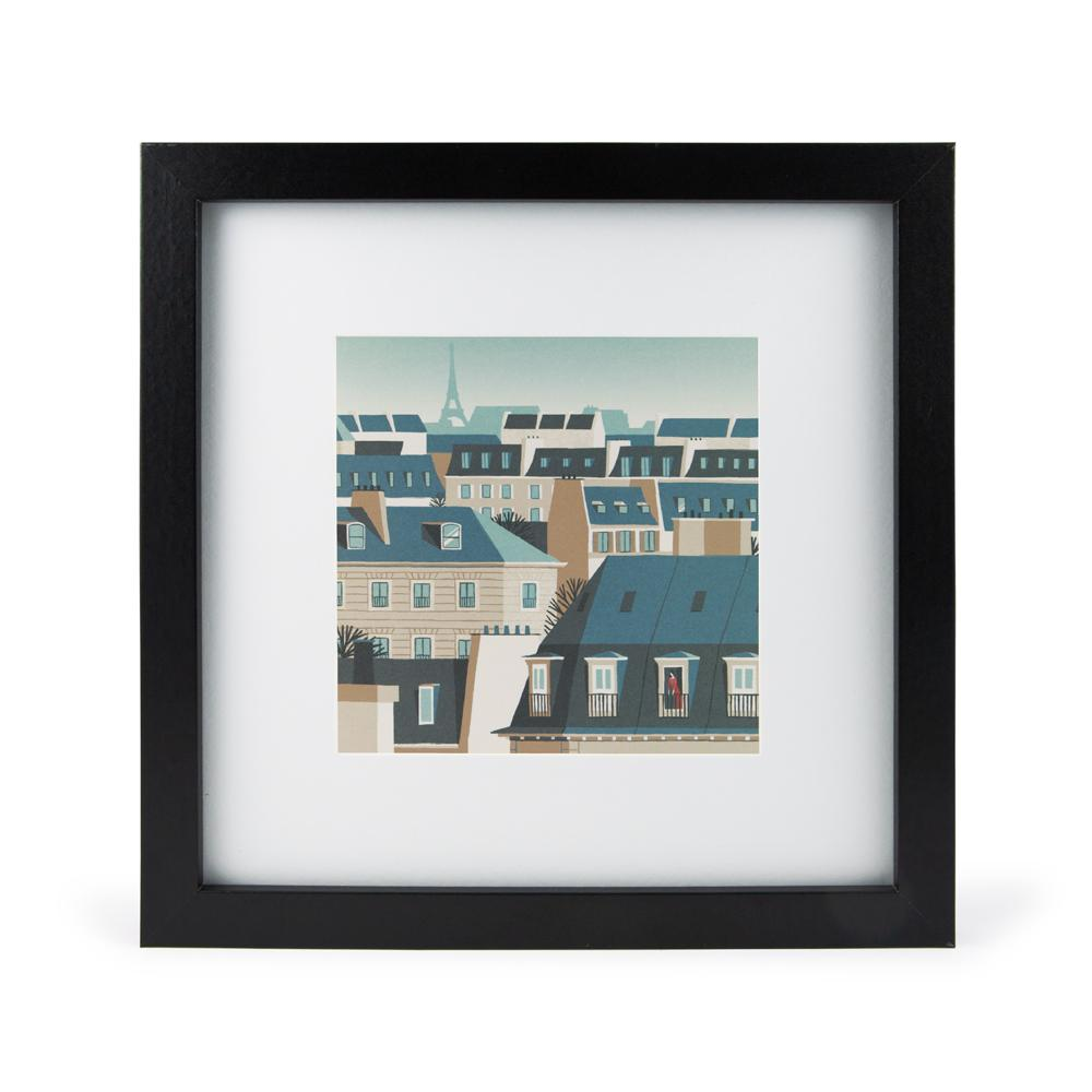 'Paris Rooftops' Mini Print