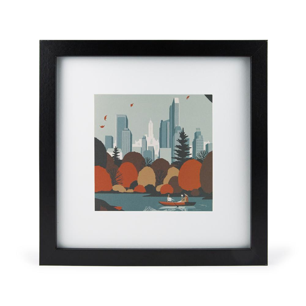 'New York' Mini Print