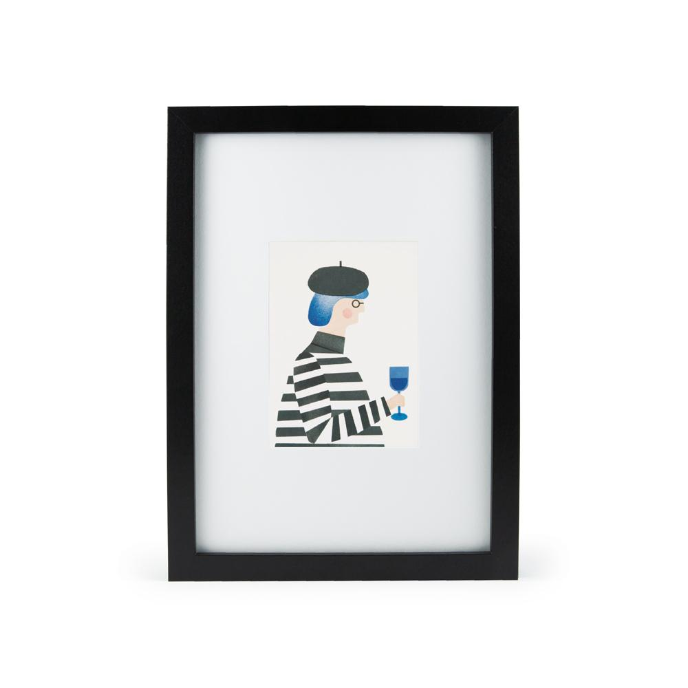 'The Great Thinker' Mini Print