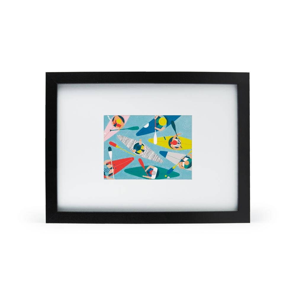 'Kayak Club' Mini Print