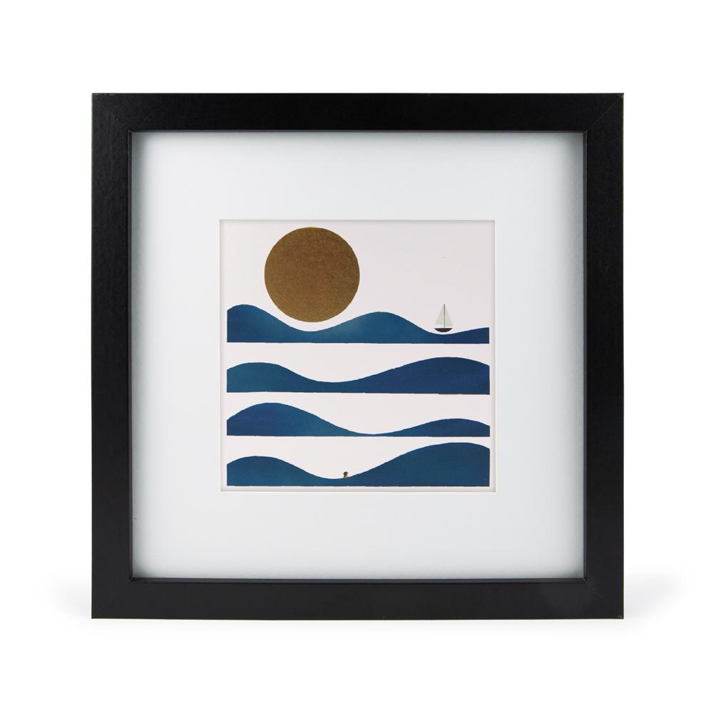 'Wave Bather' Mini Print