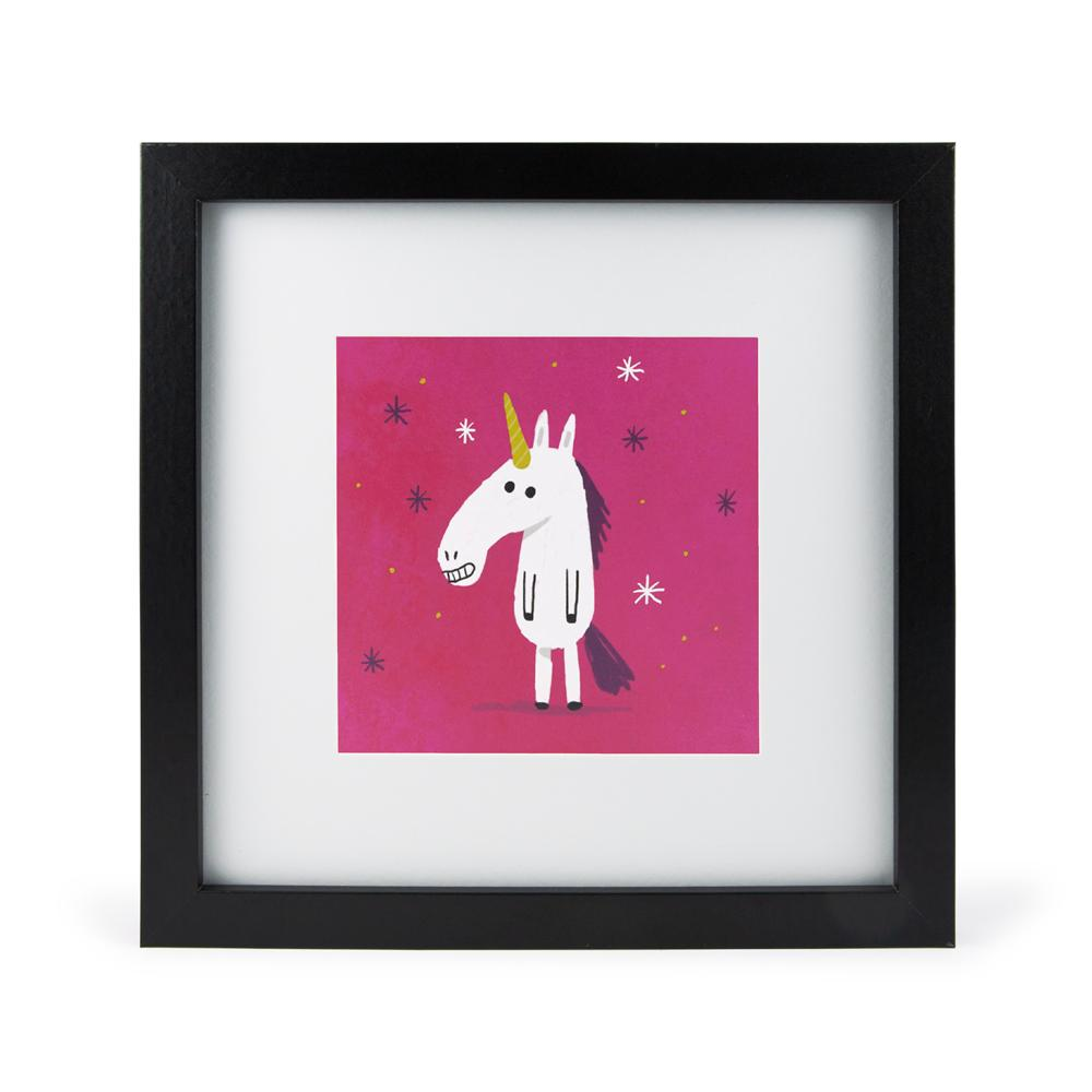 'Unicorn' Mini Print