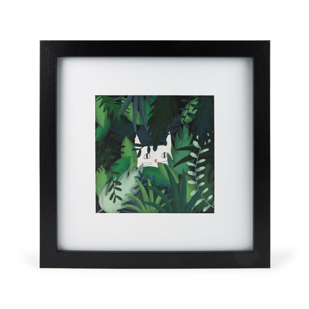 'Jungle Cat' Mini Print