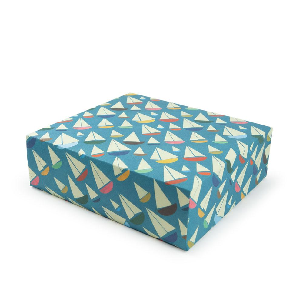 'Sailboats' Gift Wrap