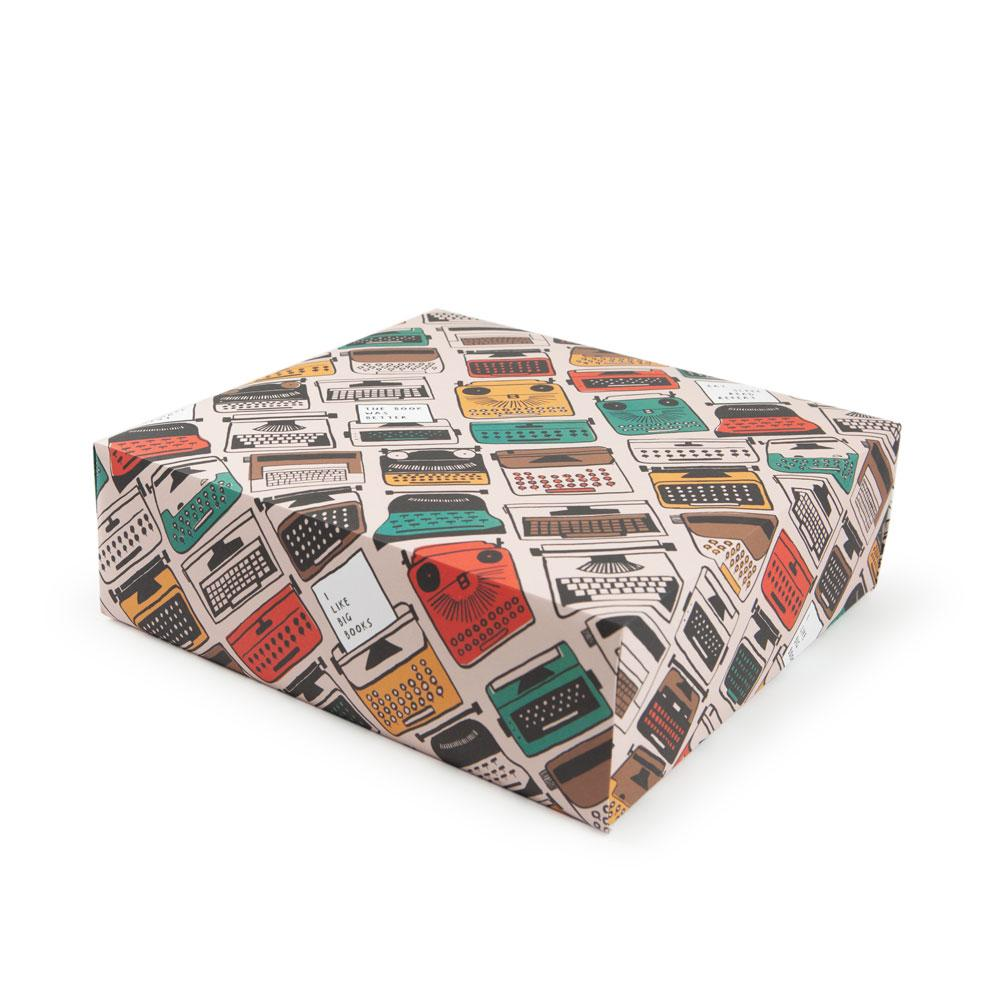 'Typewriter' Gift Wrap by Katy Welsh