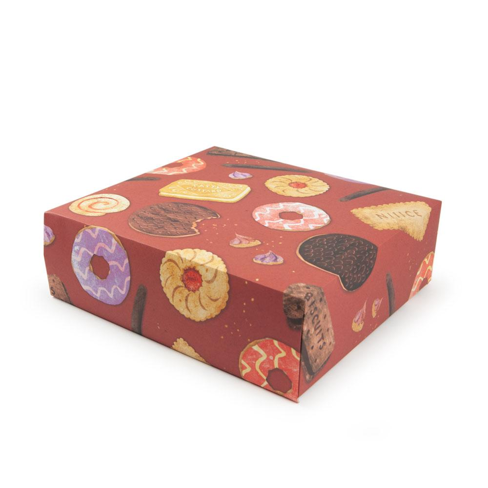 'Biscuits' Gift Wrap by Emily Nash