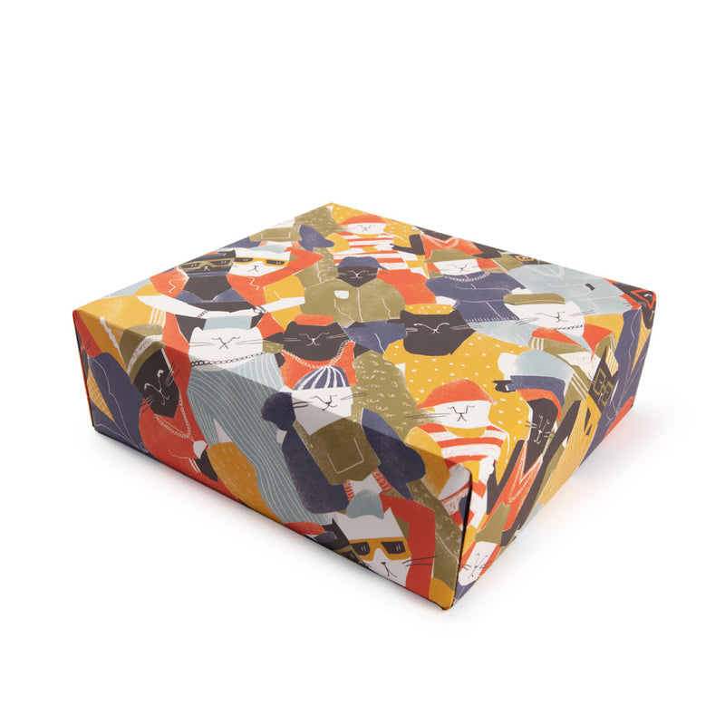 'Cool Cats' Gift Wrap
