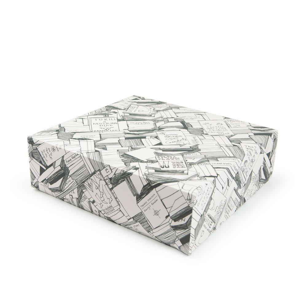 'Books' Gift Wrap by USTUDIO