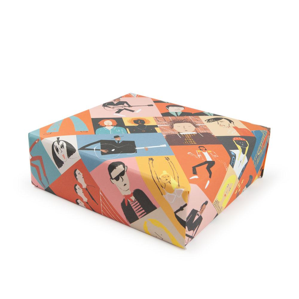 'Musicians' Gift Wrap