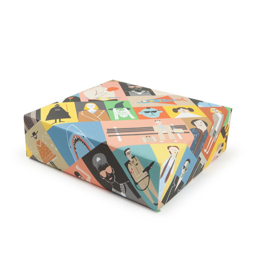 'Films' Gift Wrap by Rob Hodgson