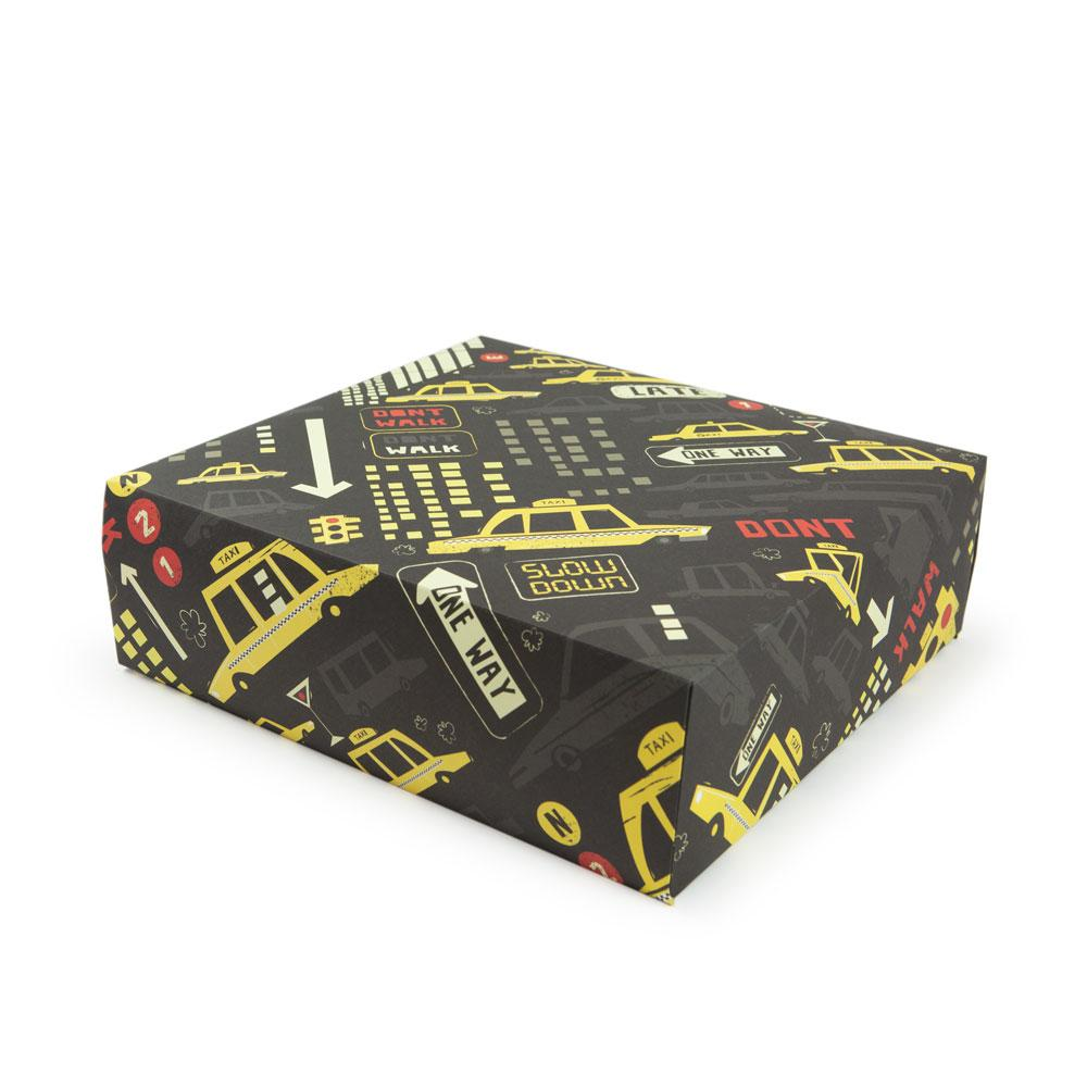 'New York' Gift Wrap by Peter Donnelly