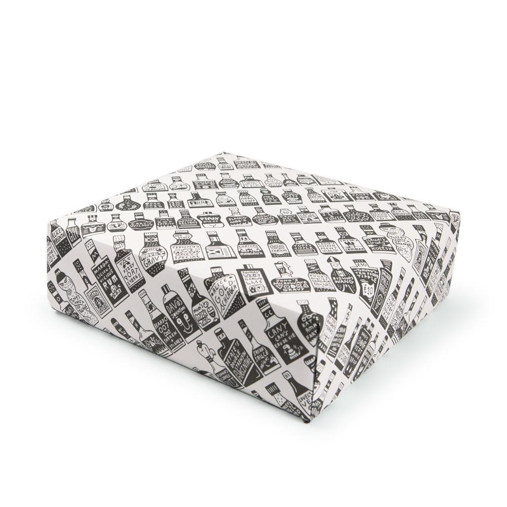 '109 Bottles' Gift Wrap by Serge Seidlitz