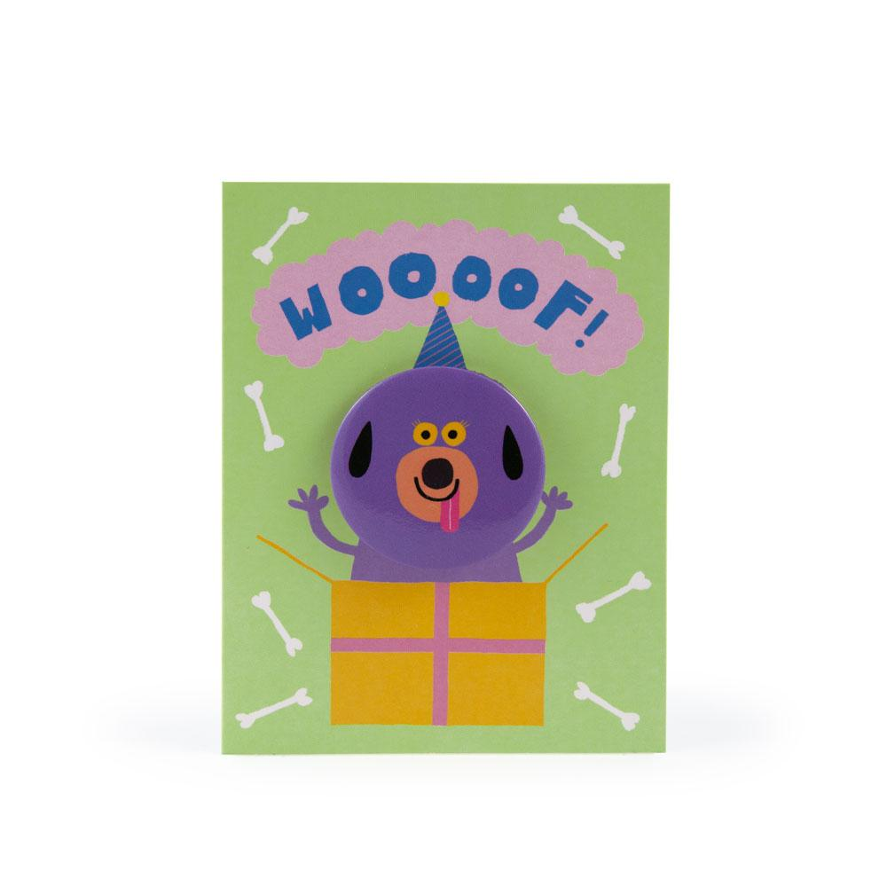 'Dog' Badge Card