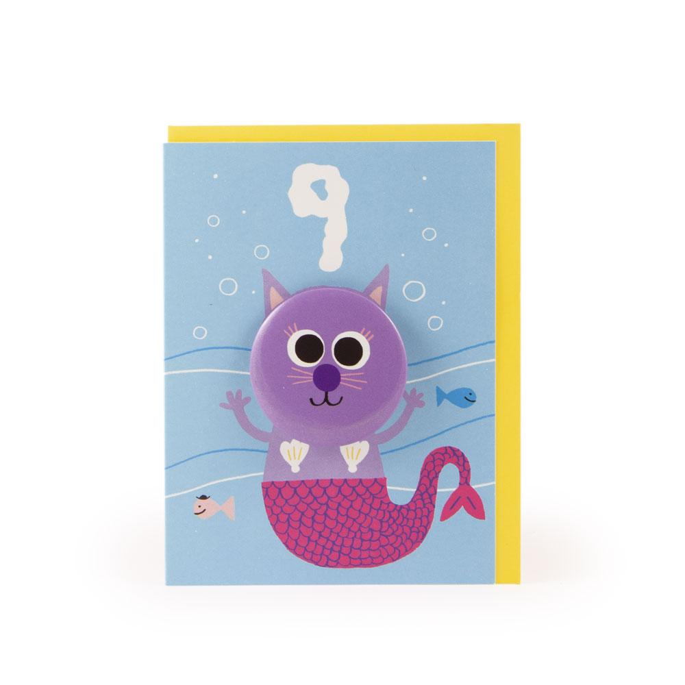 'Mercat' Age 9 Badge Card by Rob Hodgson