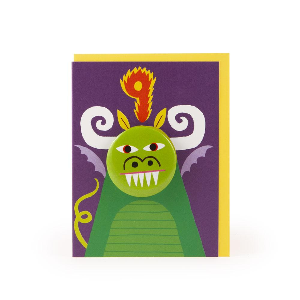 'Dragon' Age 9 Badge Card by Rob Hodgson