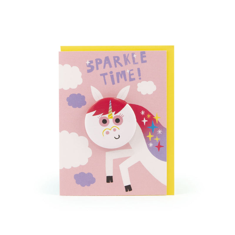 'Unicorn' Badge Card