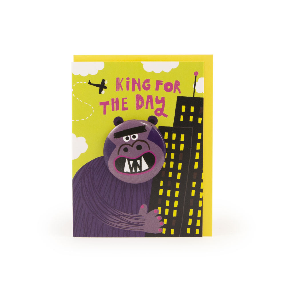 'King Kong' Badge Card
