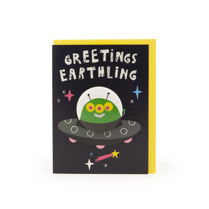 'Alien' Badge Card