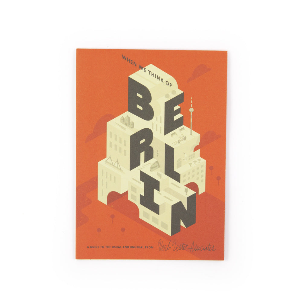 'When We Think Of Berlin' Map
