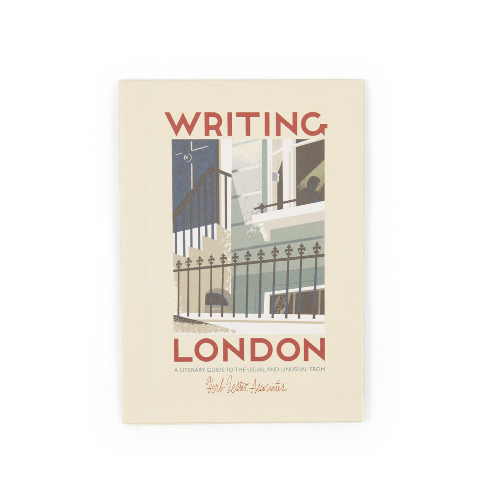 'Writing London' Map (2nd Edition)