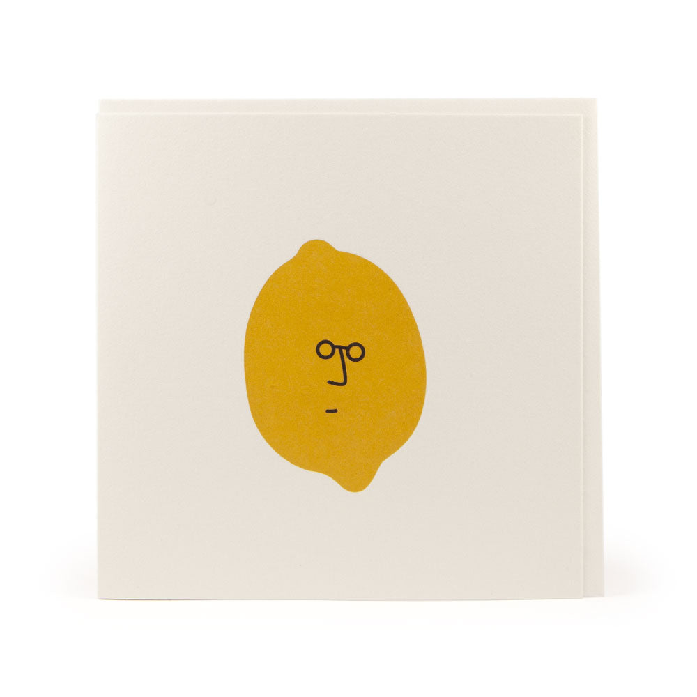 'John Lemon' Card by Jaco Haasbroek