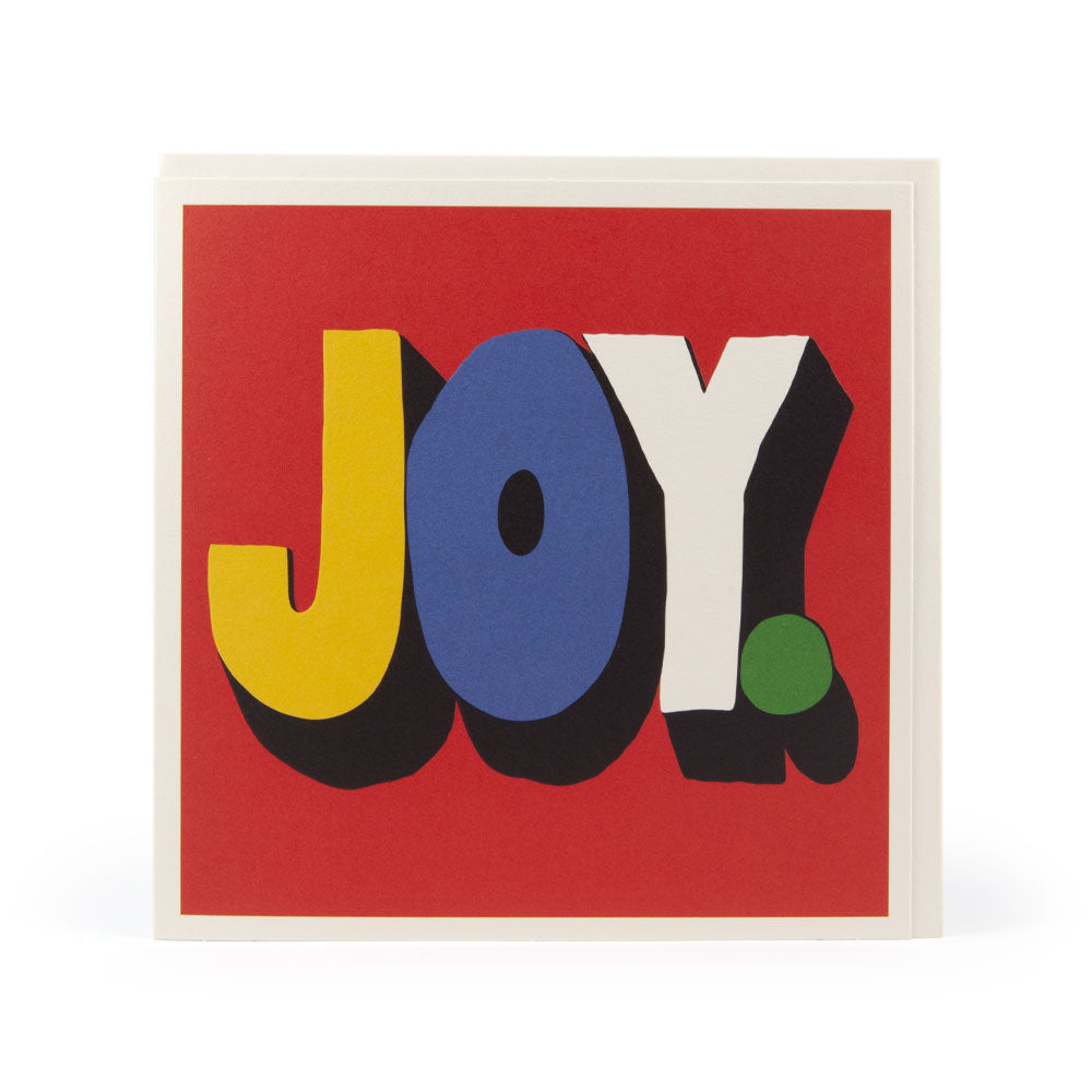 'JOY' Card by Andreas Samuelsson