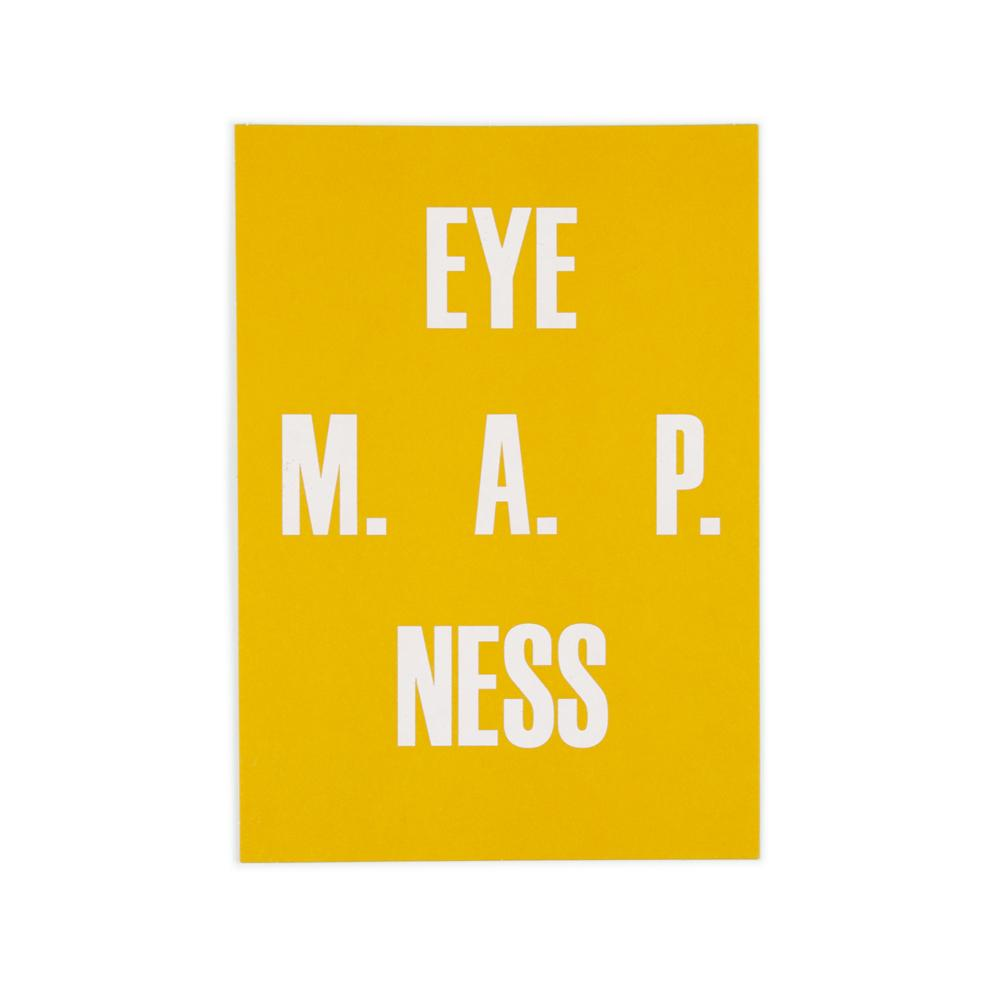 'Eye M.A.p ness' Card by USTUDIO