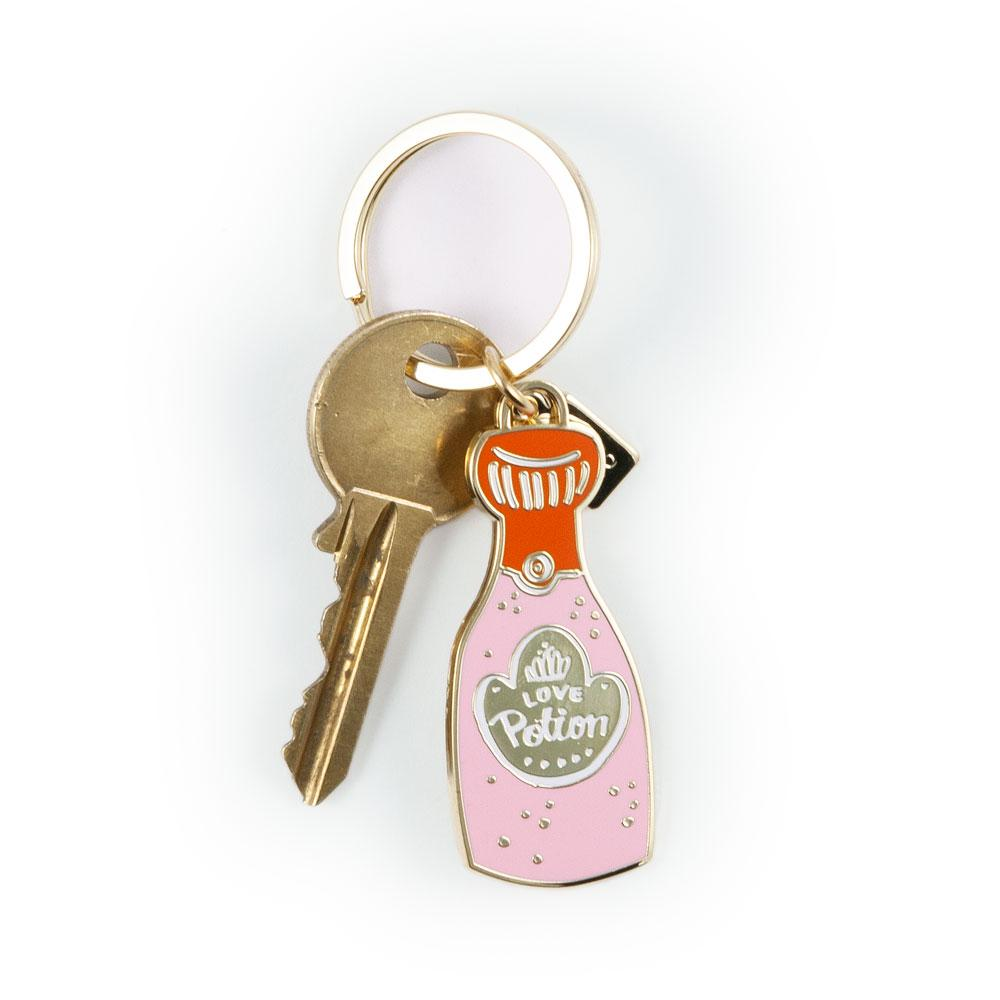 'Love Potion' Keyring