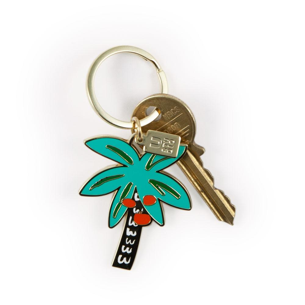 'Palm Tree' Keyring