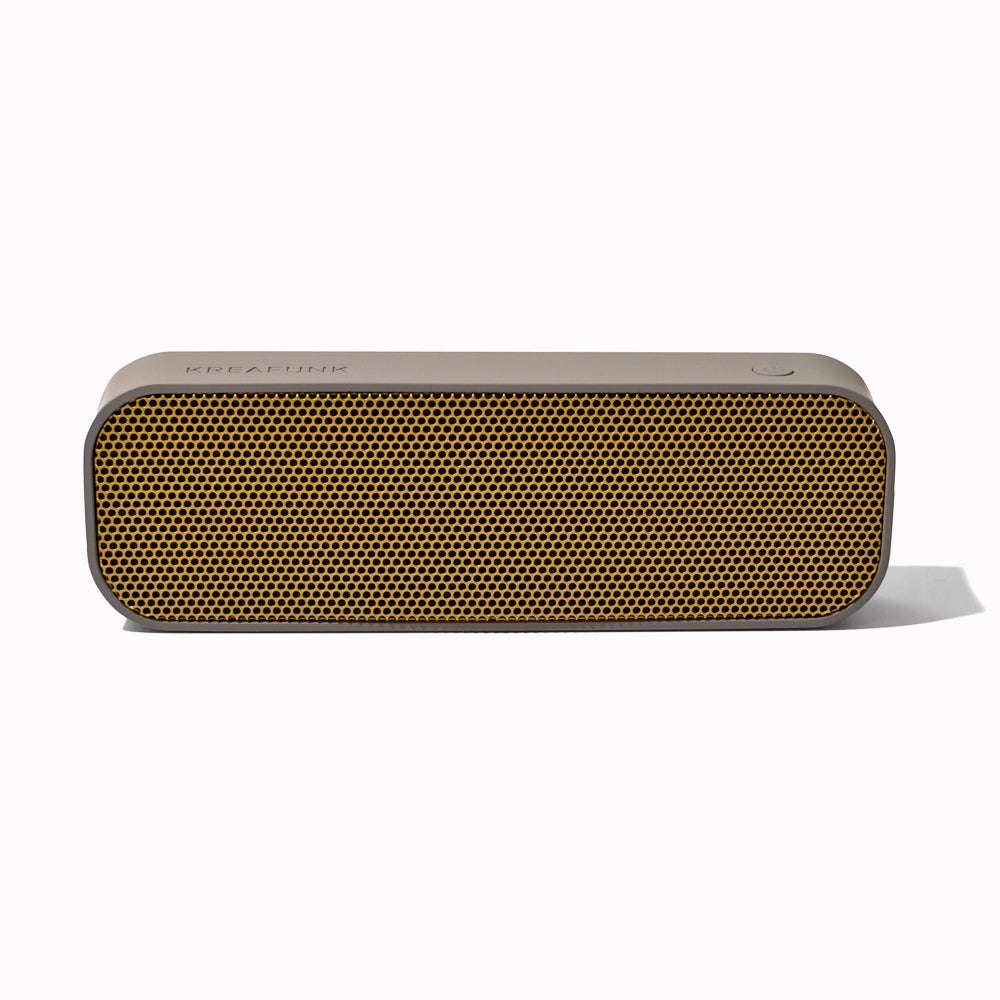 'aGroove' Cool Grey Bluetooth Speaker