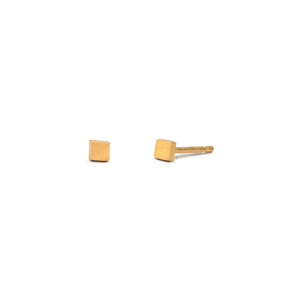 'Axis Tiny Square' Stud Earrings