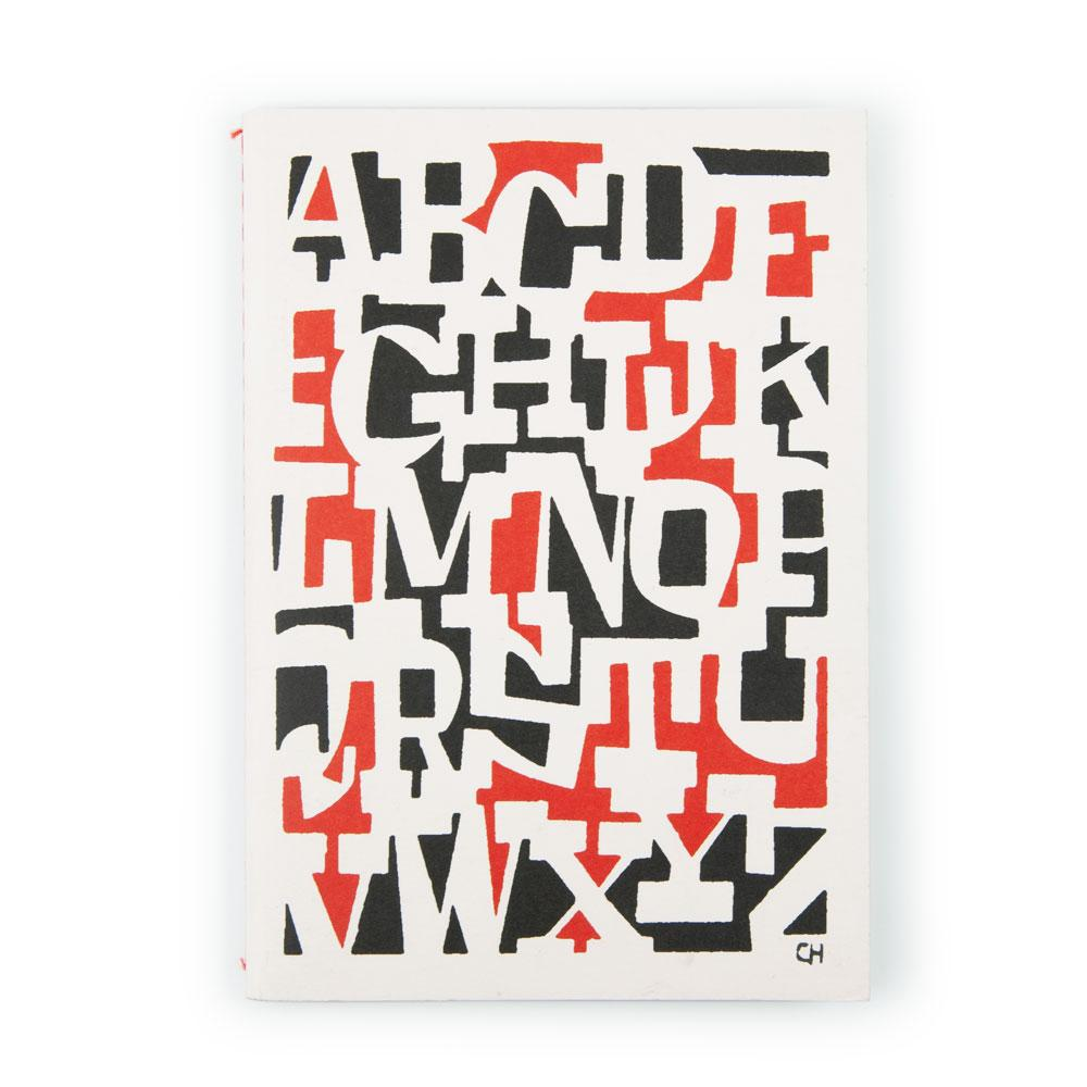 'Alphabet' A5 Notebook