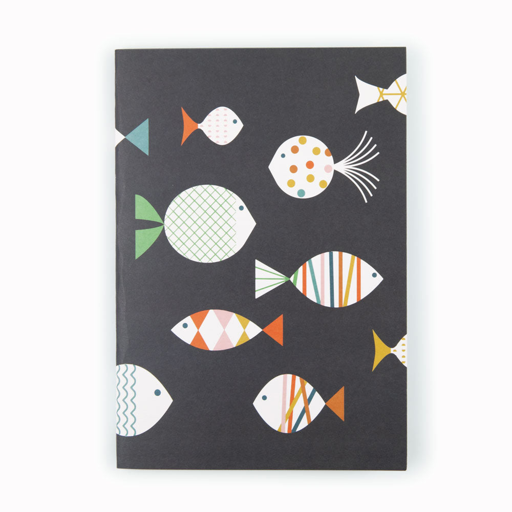 'Fish' A5 Notebook