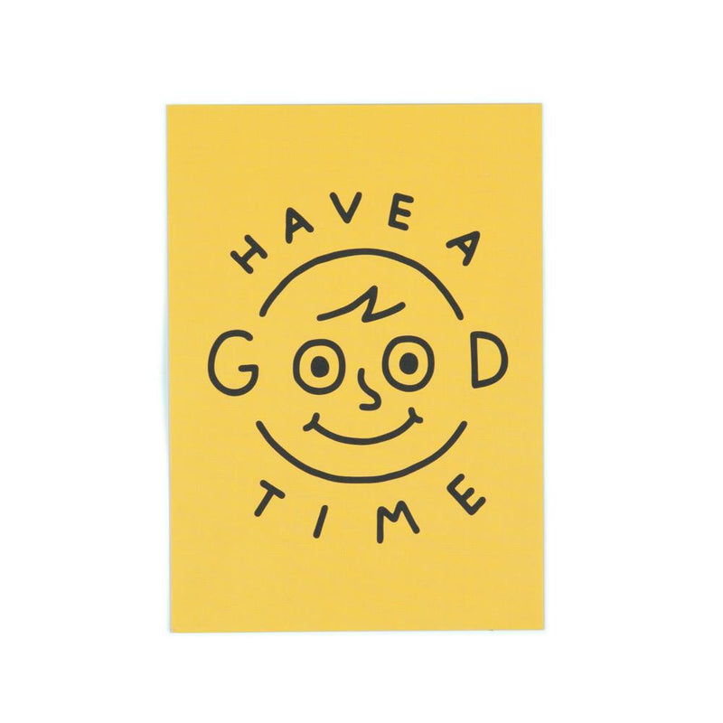 'Have a Good Time' Postcard