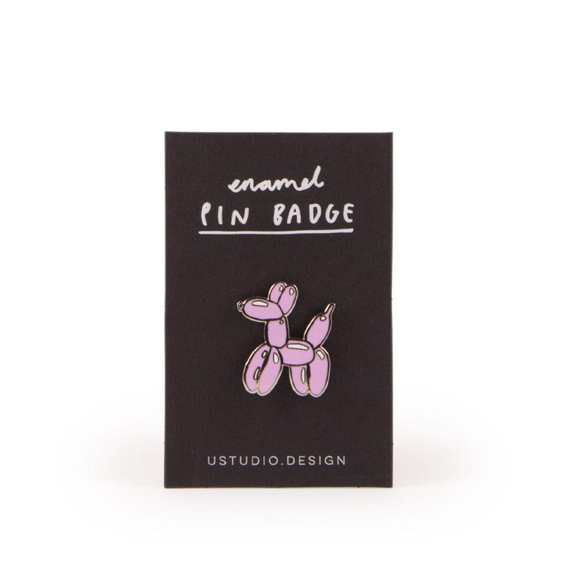 'Balloon Dog' Enamel Pin