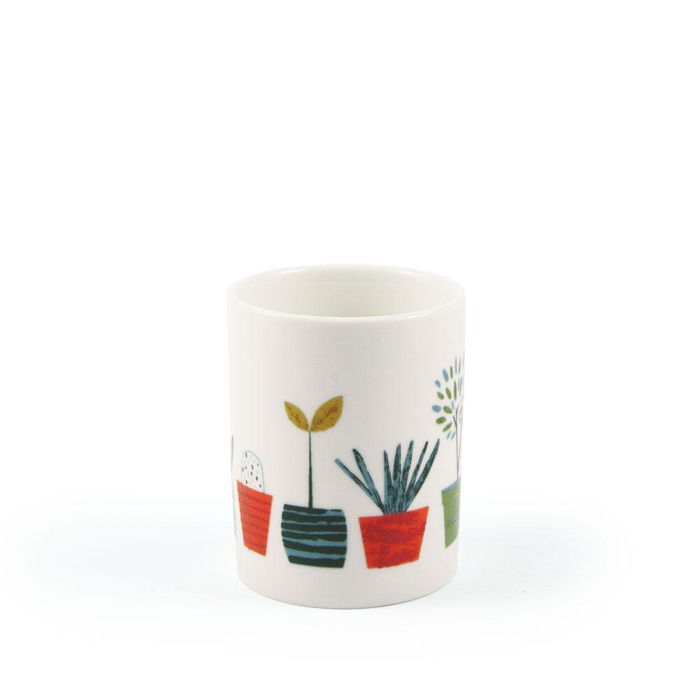 'Little Plants' Egg Cup