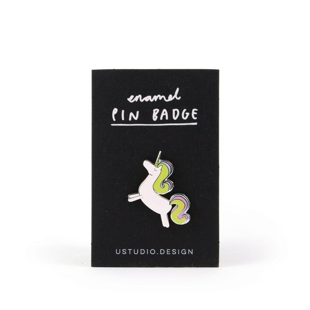 'Unicorn' Enamel Pin