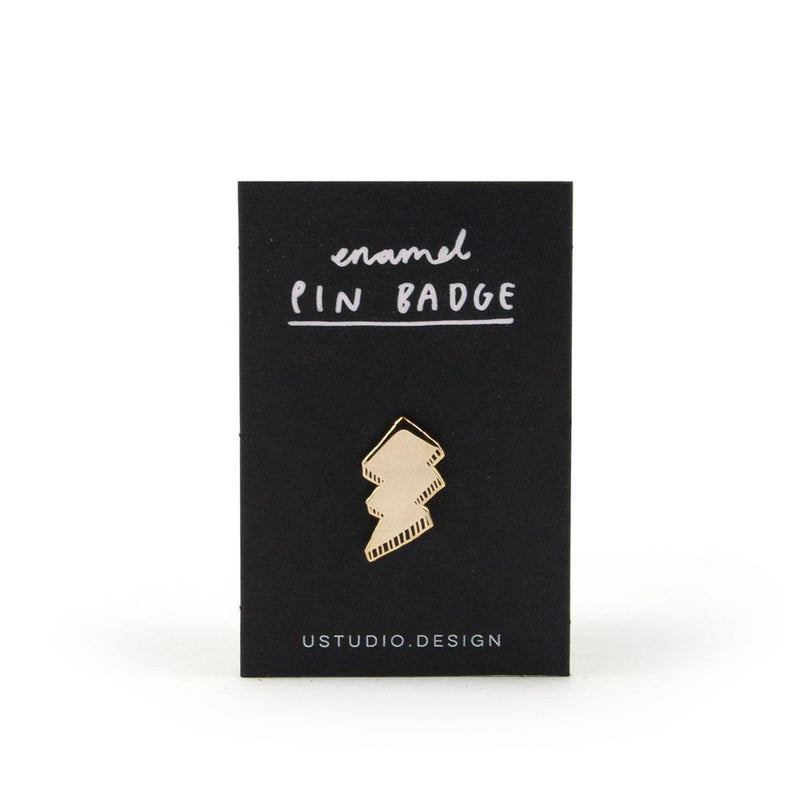 'Lightning Bolt' Enamel Pin