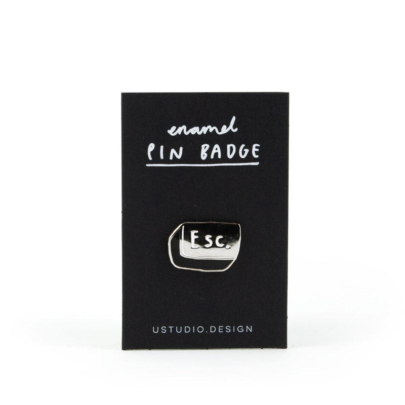 'Esc Button' Enamel Pin