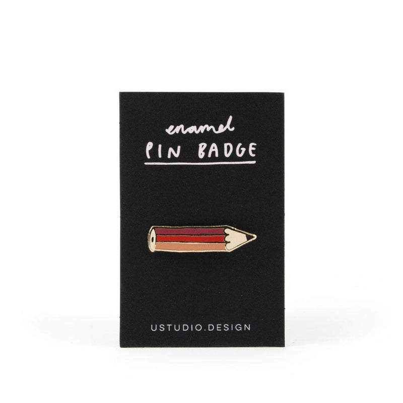 'Pencil' Enamel Pin