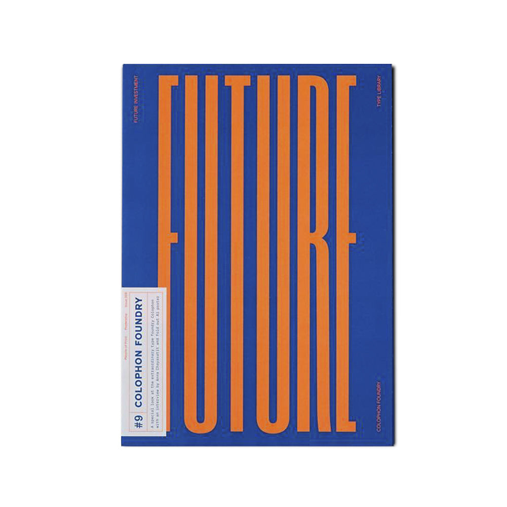 'Posterzine' Issue 09 Colophon Foundry