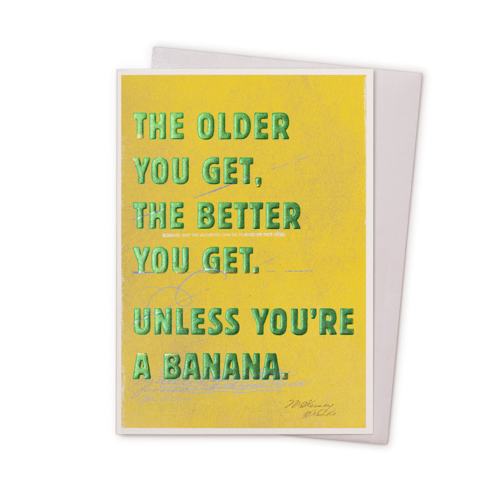 'Older You Get' Card