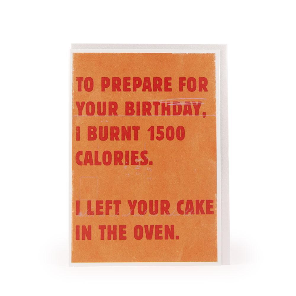 '1500 Calories' Card by USTUDIO