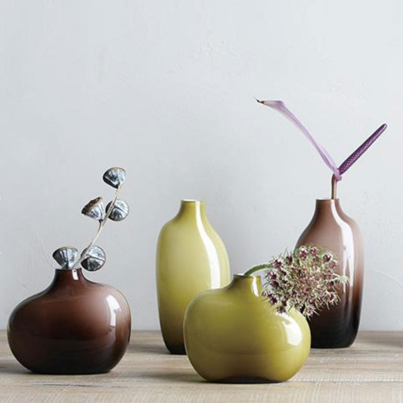 'Sacco 03' Brown Vase