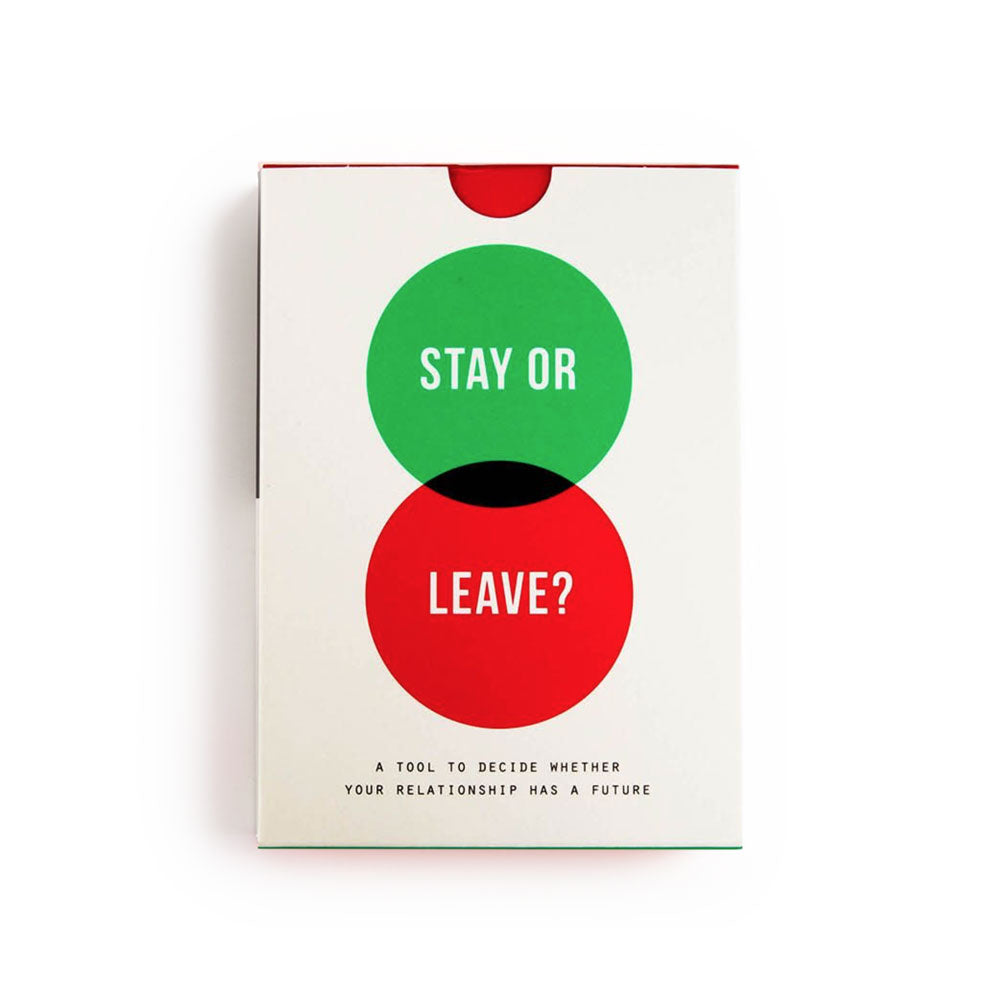 Stay Or Leave Card? Prompt Cards