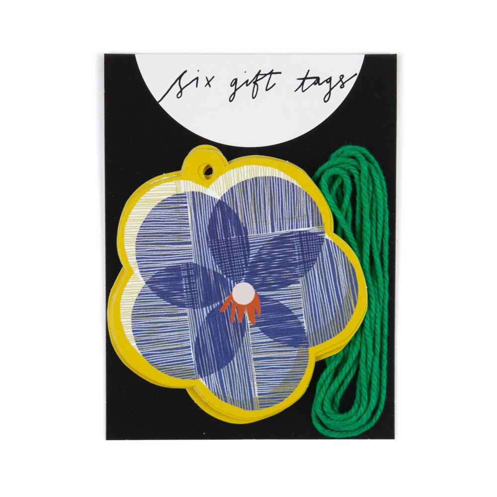 'Pansy' Gift Tags by Katy Welsh