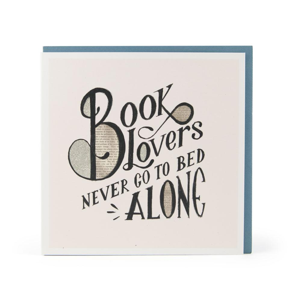 'Book Lovers' Card by USTUDIO