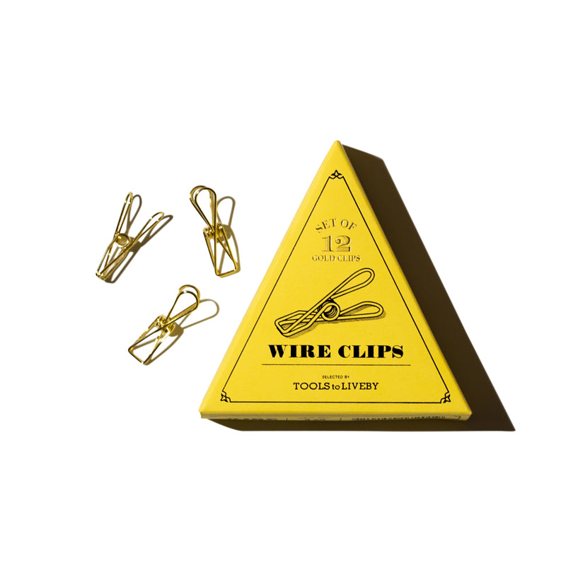 'Wire' Binder Clips