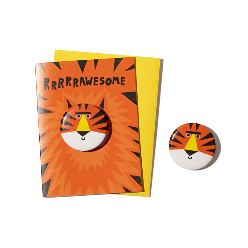 'Tiger' Badge Card